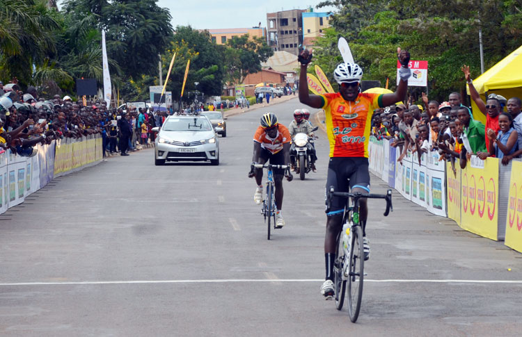 Byukusenge Patrick wins Race To Remember 2016